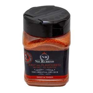 NoRubbish Fast and Flavoured No Salt BBQ Rub
