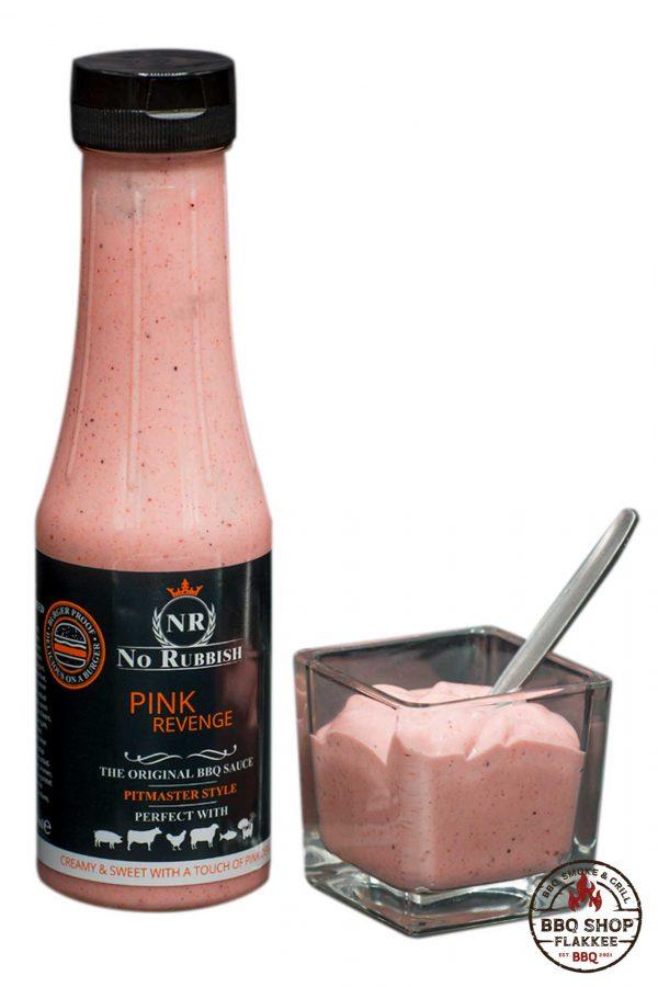 Pink Revenge BBQ Sauce