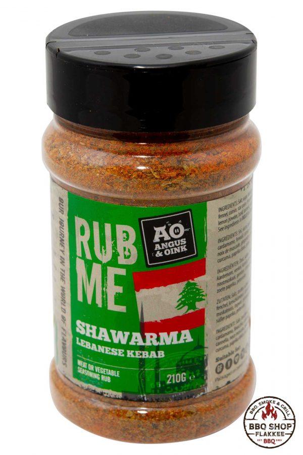 Angus and Oink Shawarma rub