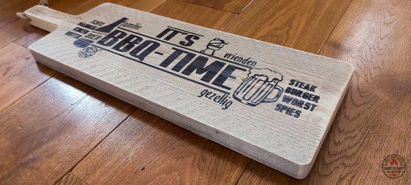 BBQ serveer plank