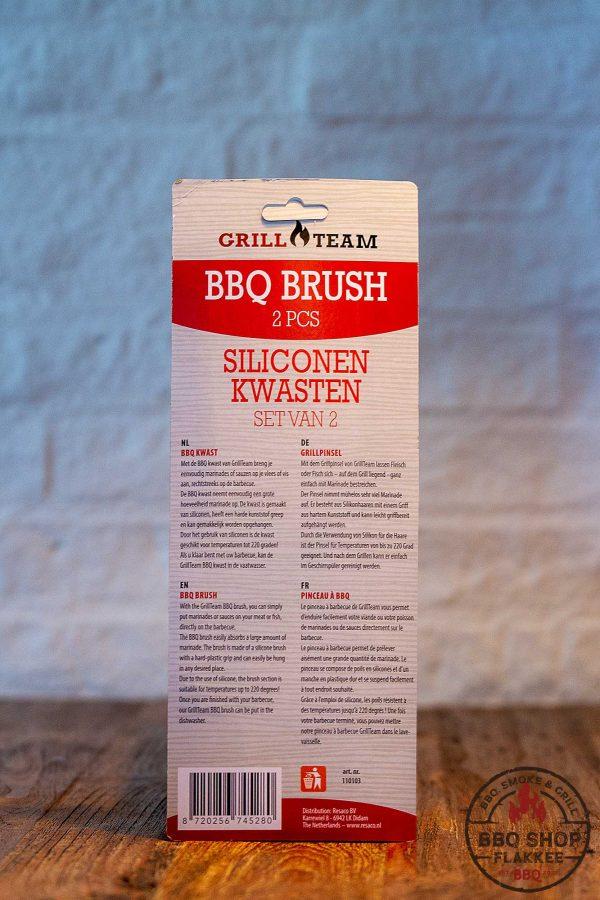 Siliconen Barbecue / saus kwasten