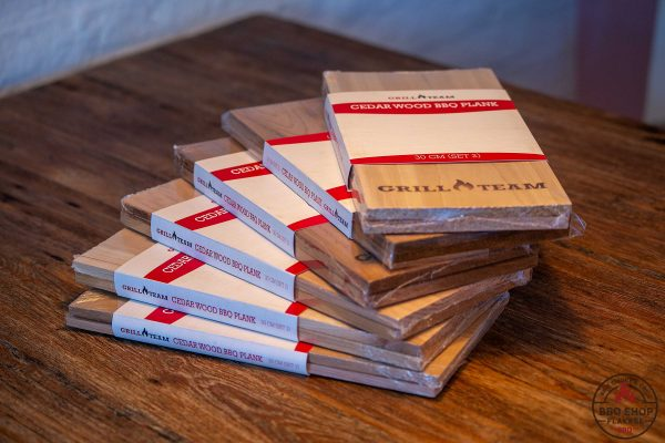 Ceder houten rookplank