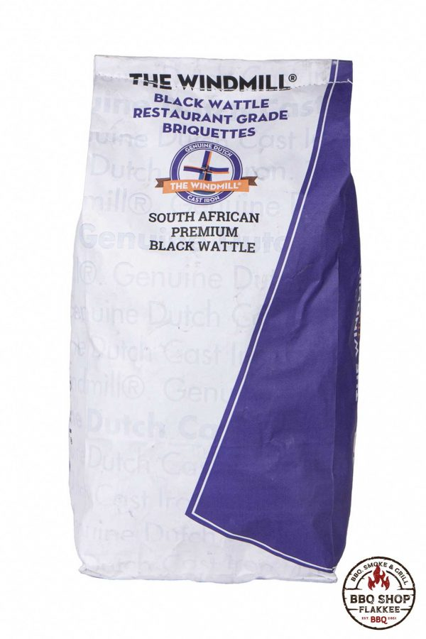 The Windmill Black Wattle Premium Briketten