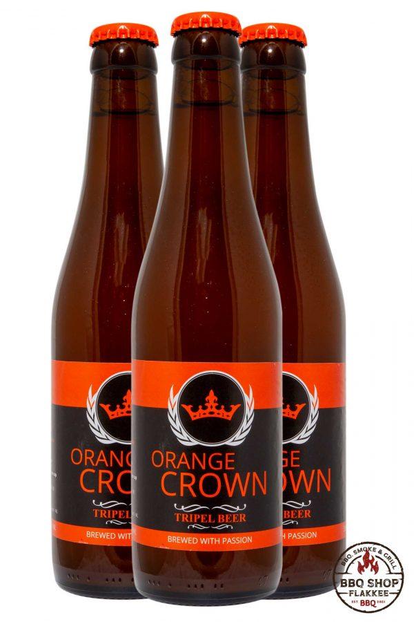Orange Crown BBQ Bier
