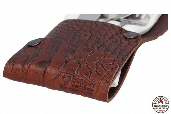 Bestek Etui Krokoprint   Dutch Made©